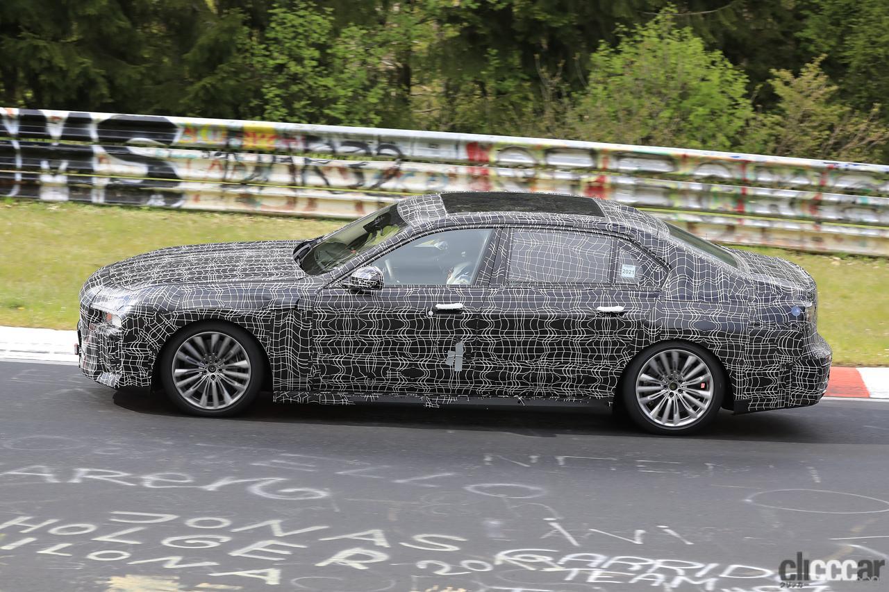 「V12はもういらない!? BMW 7シリーズ次世代型、頂点には電動化された「i750M60」」の7枚目の画像