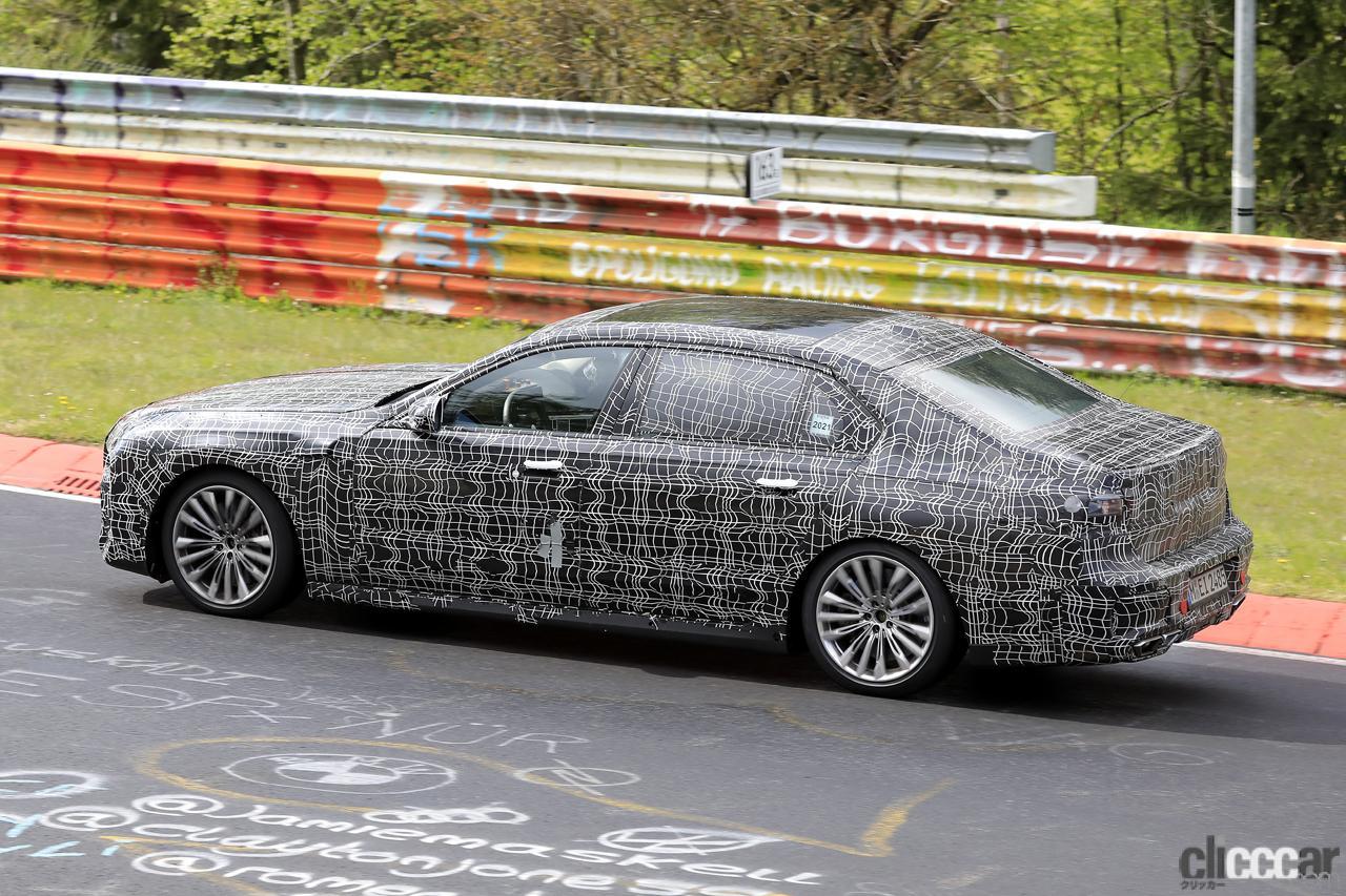 「V12はもういらない!? BMW 7シリーズ次世代型、頂点には電動化された「i750M60」」の8枚目の画像