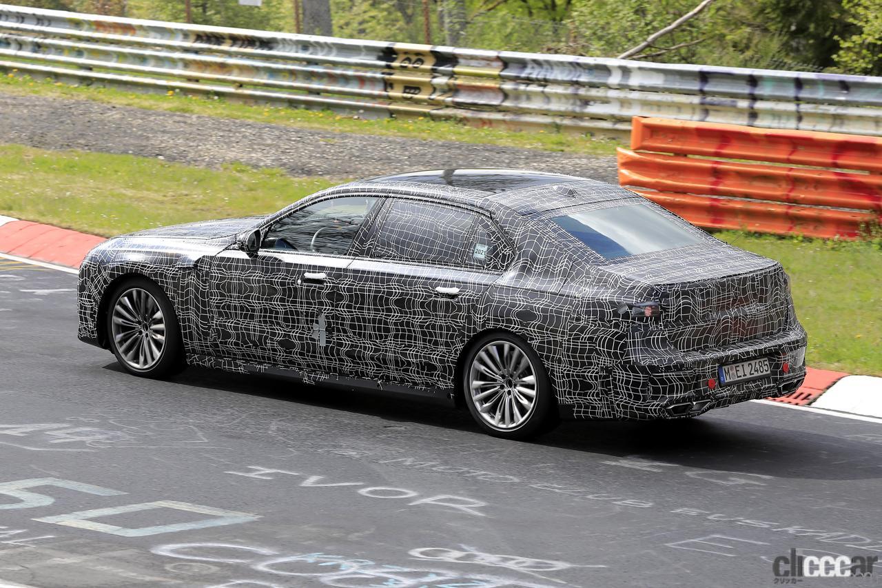 「V12はもういらない!? BMW 7シリーズ次世代型、頂点には電動化された「i750M60」」の9枚目の画像