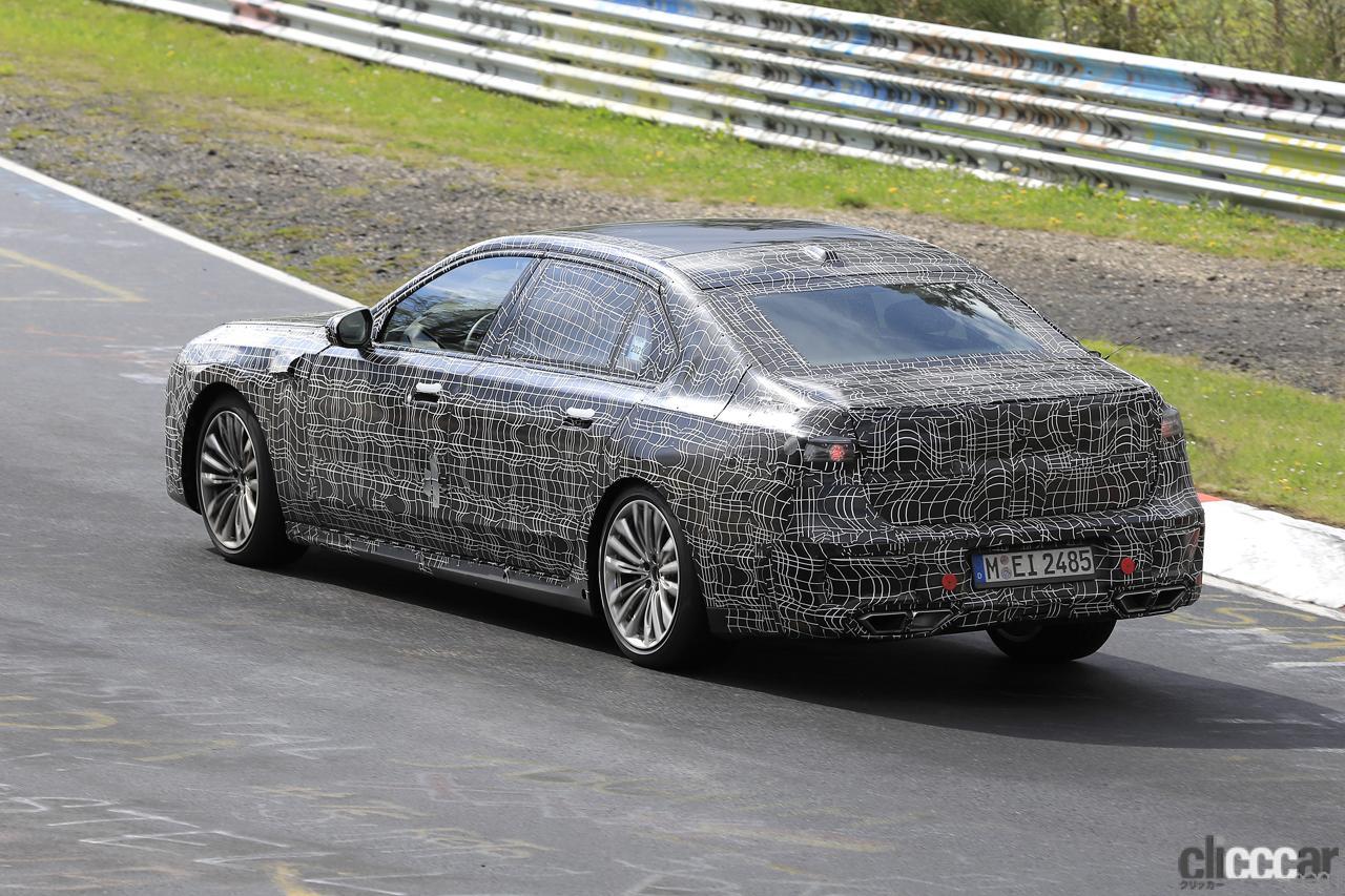 「V12はもういらない!? BMW 7シリーズ次世代型、頂点には電動化された「i750M60」」の10枚目の画像