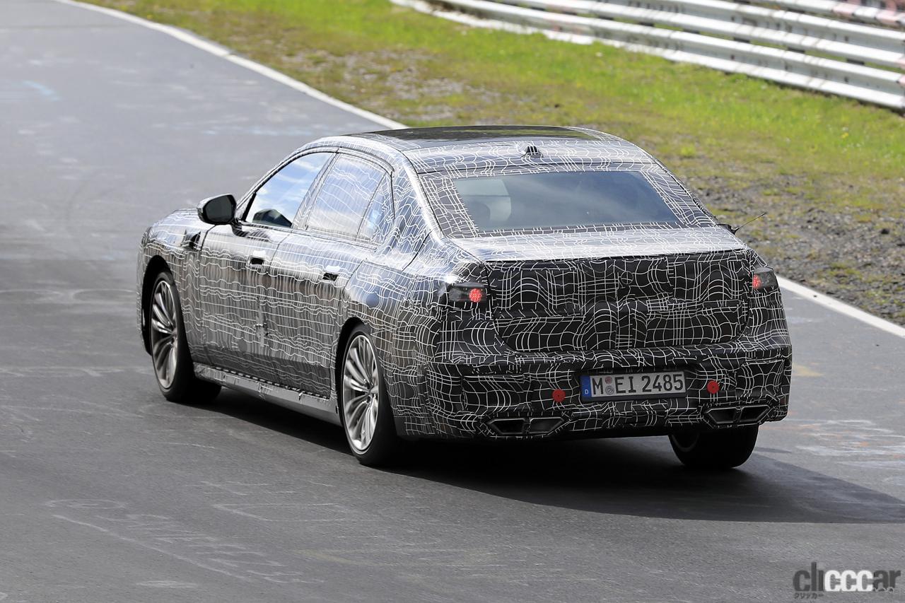 「V12はもういらない!? BMW 7シリーズ次世代型、頂点には電動化された「i750M60」」の11枚目の画像
