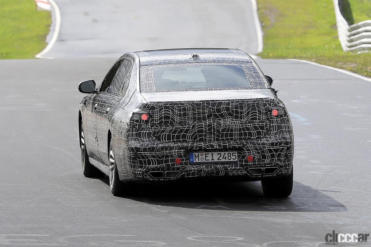 「V12はもういらない!? BMW 7シリーズ次世代型、頂点には電動化された「i750M60」」の12枚目の画像