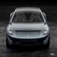 ポルシェが次世代EVクロスオーバーセダンを開発中!? デザインを大予想 - Porsche-Concept-2