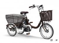 ヤマハの三輪電動アシスト自転車「PAS ワゴン」の2021年モデルは、アシスト力の向上と快適な乗り心地を実現 - yamaha_paswagon_20210602_1