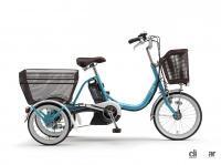 ヤマハの三輪電動アシスト自転車「PAS ワゴン」の2021年モデルは、アシスト力の向上と快適な乗り心地を実現 - yamaha_paswagon_20210602_2