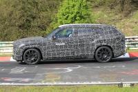 BMW史上最強SUV誕生へ。750馬力オーバー「X8 M」市販型、ニュルを疾走! - Spy shot of secretly tested future car