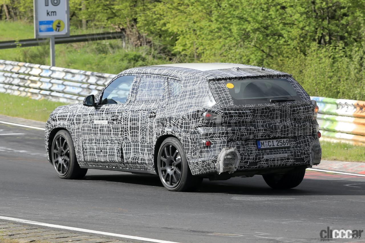 「BMW史上最強SUV誕生へ。750馬力オーバー「X8 M」市販型、ニュルを疾走!」の7枚目の画像