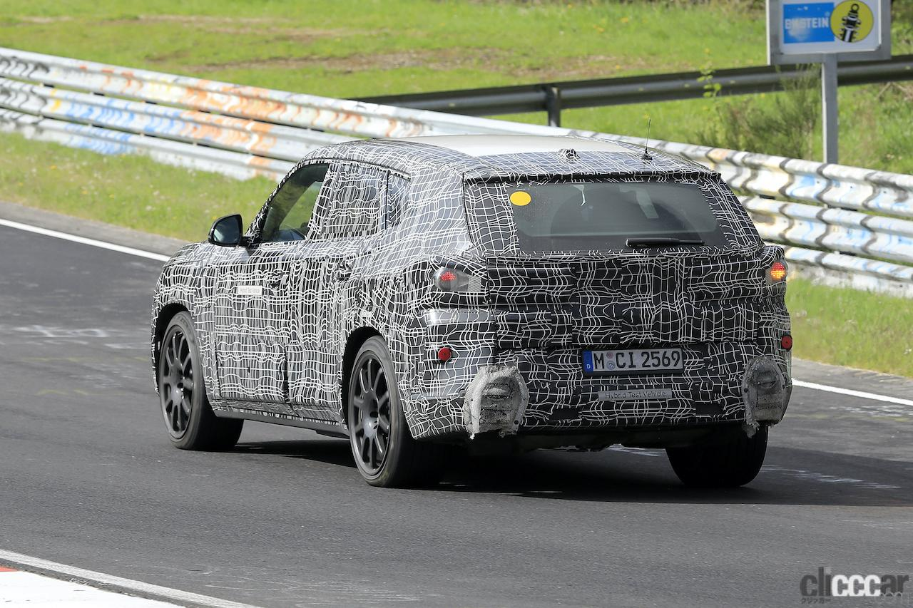 「BMW史上最強SUV誕生へ。750馬力オーバー「X8 M」市販型、ニュルを疾走!」の8枚目の画像