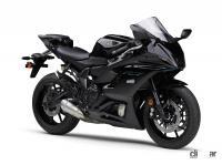 ブラックのYZF-R7