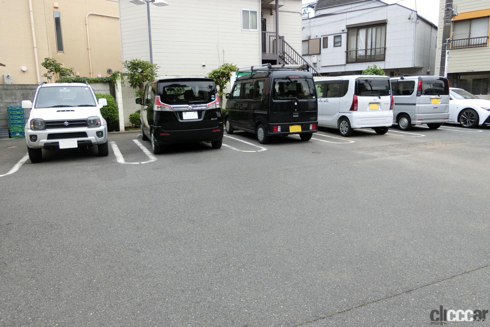 ドアパンチからの当て逃げ、修理、泣き寝入りを避ける駐車スペース選び3つの方法