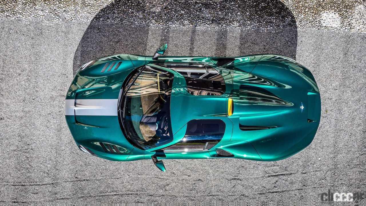 「フェラーリ488ベースの新型ミッドシップ、「アレーゼRH95」世界初公開!」の9枚目の画像
