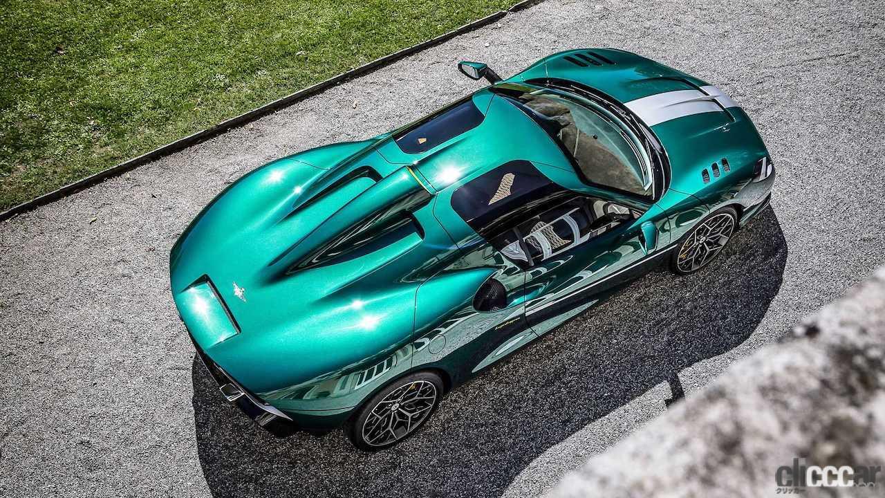 「フェラーリ488ベースの新型ミッドシップ、「アレーゼRH95」世界初公開!」の1枚目の画像