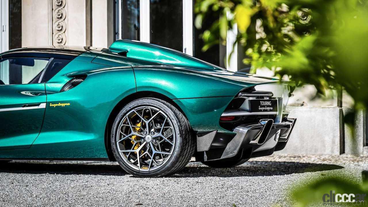 「フェラーリ488ベースの新型ミッドシップ、「アレーゼRH95」世界初公開!」の3枚目の画像