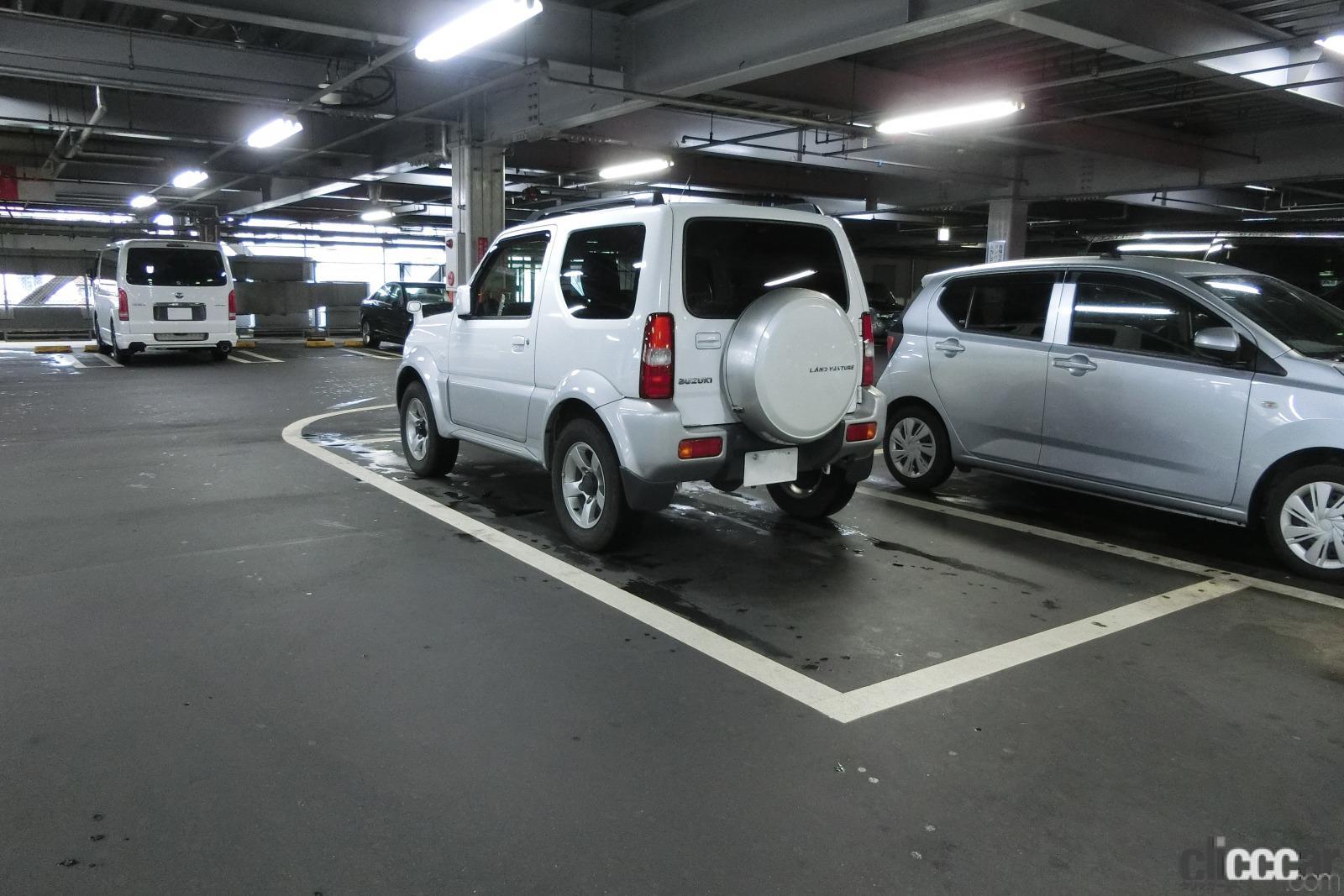 「ドアパンチからの当て逃げ、修理、泣き寝入りを避ける駐車スペース選び3つの方法」の8枚目の画像