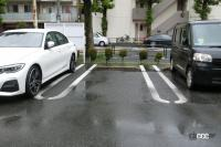 ドアパンチからの当て逃げ、修理、泣き寝入りを避ける駐車スペース選び3つの方法 - pattern 3