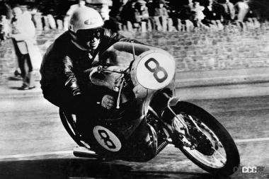 1959年ホンダTT島レース初参戦(谷口選手 RC142 )