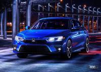 タイプRも待ち遠しい! 新型ホンダ シビック・ハッチバック、流麗なルーフを初公開 - Honda-Civic_Sedan-2022-1280-02