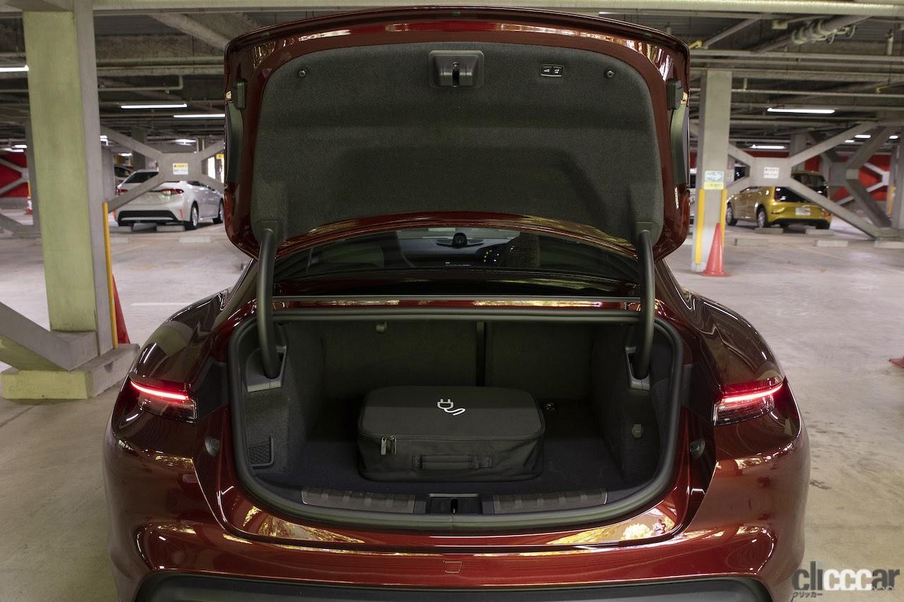「VWグループの総力を注いだ素晴らしい作品たち:アウディe-tron & ポルシェ・タイカン【プレミアムカー厳正テスト】第1回・その4」の11枚目の画像