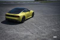 7代目フェアレディZの世界初公開は2021年8月17日に決定! - Nissan_Z_Proto_exterior_Rear_Three quarter_3-1200x800