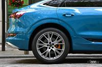 VWグループの高級EVを徹底比較!アウディe-tronスポーツバック55クワトロ & ポルシェ・タイカン4S 第1回・その1【プレミアムカー厳正テスト】 - アウディe-tronスポーツバック55クワトロ
