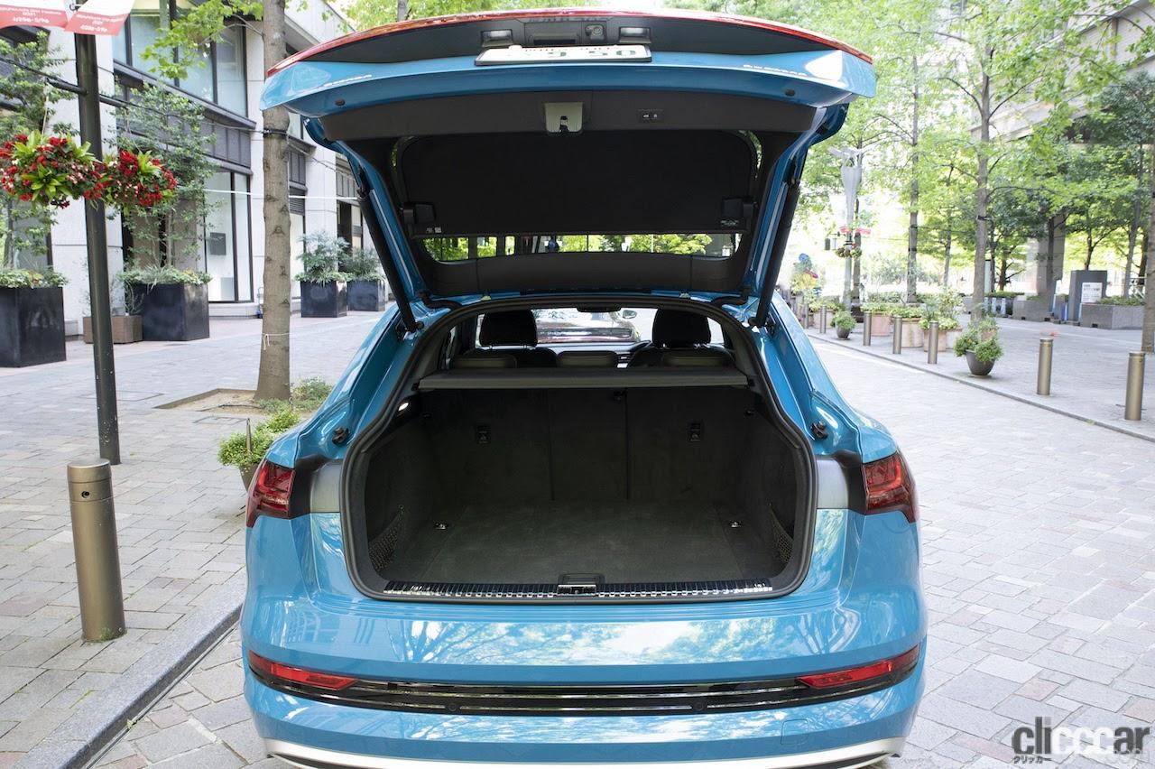 「VWグループの総力を注いだ素晴らしい作品たち:アウディe-tron & ポルシェ・タイカン【プレミアムカー厳正テスト】第1回・その4」の10枚目の画像