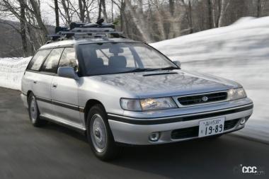 1989年発売の初代レガシィ・ツーリングワゴン