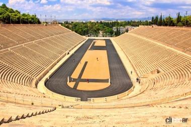 アテネのオリンピック競技場跡