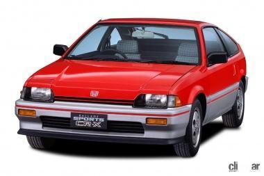 1983年発売のバラードスポーツCR-X