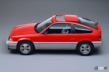 1983年発売のバラードスポーツCR-X(Side View)