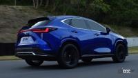 新型レクサスNXのプラグインハイブリッドは、前後2モーターに総電力量18.1kWhのバッテリーによりクラストップレベルのEV航続距離を実現 - Lexus_NX_20210613_5