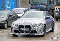 BMW M4謎の開発車両の正体は、E46以来の「CSL」なのか!? - BMW M4 CS CSL 3