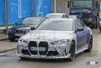 BMW M4謎の開発車両の正体は、E46以来の「CSL」なのか!? - BMW M4 CS CSL 4