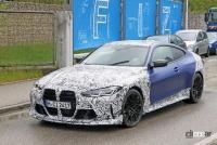 BMW M4謎の開発車両の正体は、E46以来の「CSL」なのか!? - BMW M4 CS CSL 6