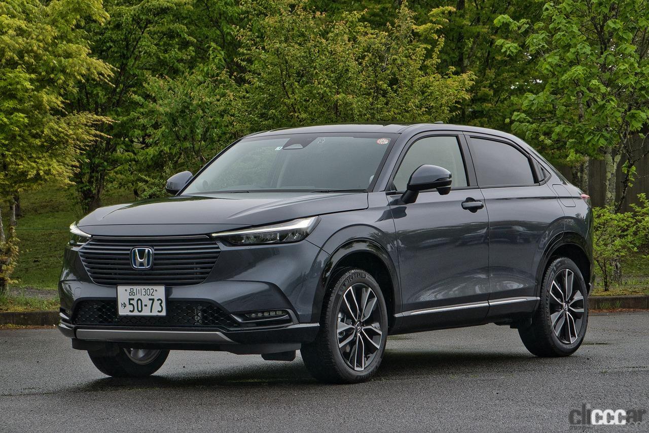 新型・ホンダ「ヴェゼル」はe:HEVのFFモデルか、ガソリンの4WDか。試乗した飯田裕子の選択はどっち?