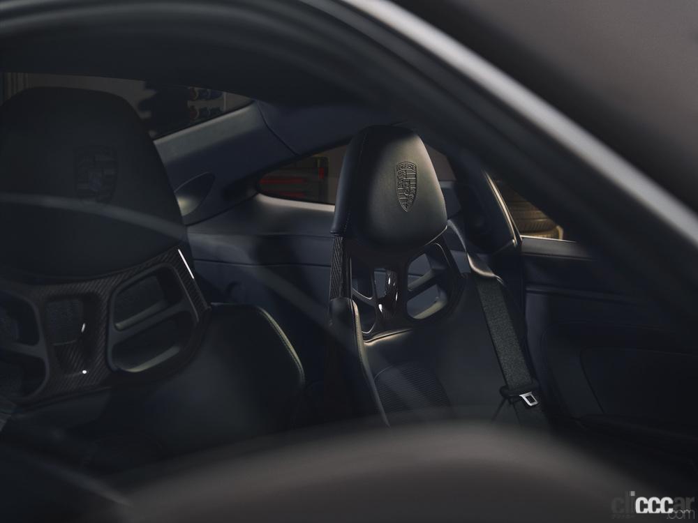 「ポルシェ911ファン待望の新型「911 GT3ツーリングパッケージ」の予約受注がスタート」の6枚目の画像
