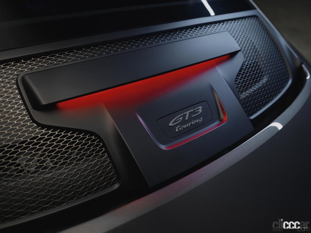 「ポルシェ911ファン待望の新型「911 GT3ツーリングパッケージ」の予約受注がスタート」の5枚目の画像