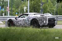 フェラーリ・V6ハイブリッドは6月24日デビューか!? 心臓部に「クアドリフォリオ」を採用との噂も - Spy shot of secretly tested future car