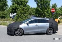 ポルシェを模したLED DRLを装備? 起亜プロシード改良型、内外装をキャッチ - Kia ProCeed facelift 8