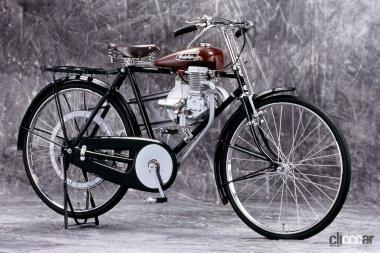 1947年ホンダ製造A型エンジン