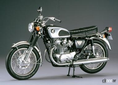 1968年発売のCB450