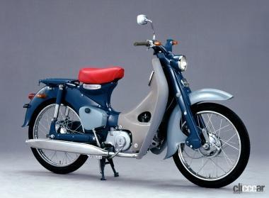 1958年発売のスーパーカブ100