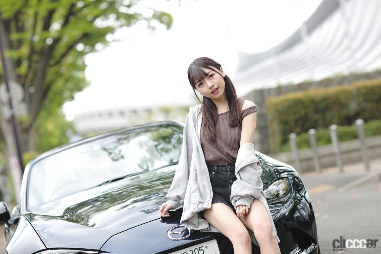 辻谷エミリ×マツダ・ロードスター