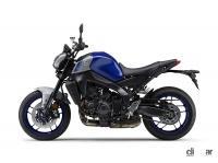 独自の3気筒エンジンを積んだヤマハのストリートファイター「MT-09」がフルモデルチェンジして3代目となった - 2021062202_006xx_MT-09_ABS_ディープパープリッシュブルーメタリックC_2_4000