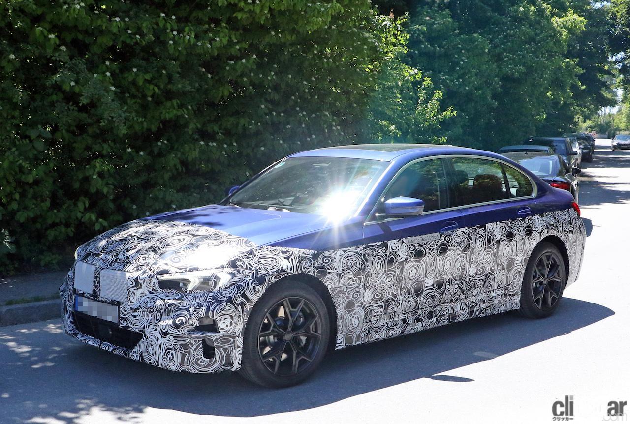 BMW・3シリーズのEVモデルは市販型に専用LED DRL装備か?