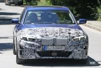 BMW・3シリーズのEVモデルは市販型に専用LED DRL装備か? - BMW i3 EV 3