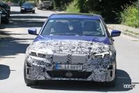 BMW・3シリーズのEVモデルは市販型に専用LED DRL装備か? - BMW i3 EV 4
