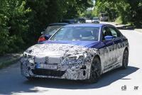 BMW・3シリーズのEVモデルは市販型に専用LED DRL装備か? - BMW i3 EV 7