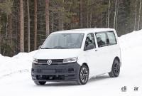 ID.BUZZ市販型、ブランド史上初のフルエレクトリックモデルへ。最新プロトをキャッチ! - VW ID.Buzz mule 1