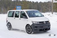 ID.BUZZ市販型、ブランド史上初のフルエレクトリックモデルへ。最新プロトをキャッチ! - VW ID.Buzz mule 15