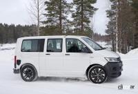 ID.BUZZ市販型、ブランド史上初のフルエレクトリックモデルへ。最新プロトをキャッチ! - VW ID.Buzz mule 16